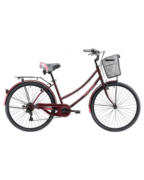 Bicicleta Oxford 304BP2648HA160 Cyclotour B/Fucsia