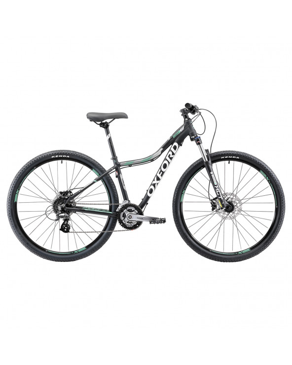 Bicicleta Oxford 304BA2792CA140 Hydra N/Verde