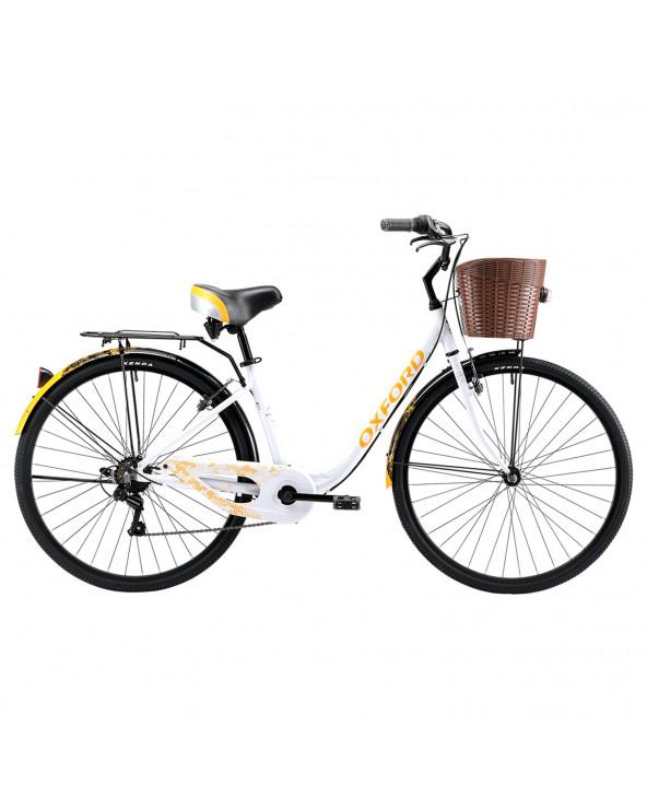 Bicicleta Oxford 304BP2854AA160 Cyclotour B/Naranja