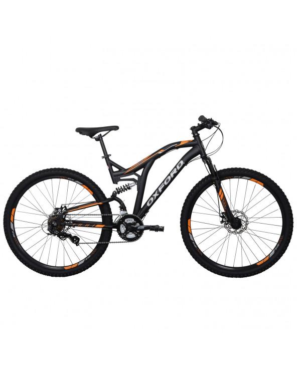 Bicicleta Oxford 304BD2715CA185 Raptor N/Naranja