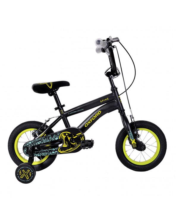 Bicicleta Oxford 308BF1219CB080 Spine N/Amarillo