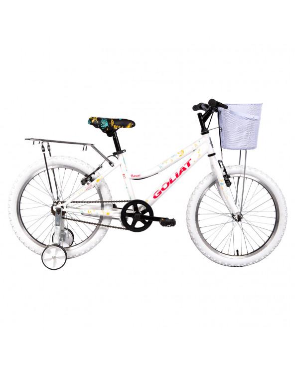 Bicicleta Goliat 308BM2078AA125 Paracas Blanco