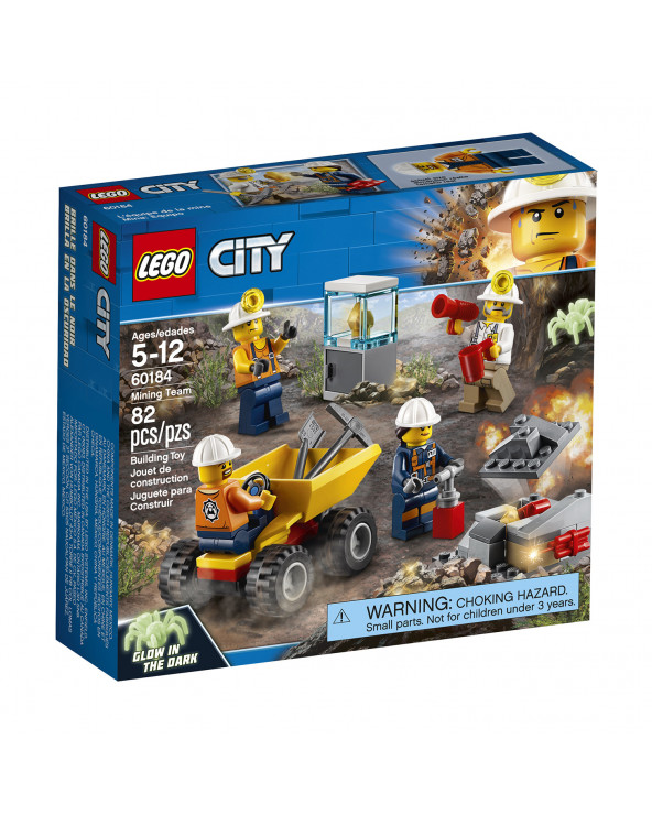 LEGO Mina Equipo 60184