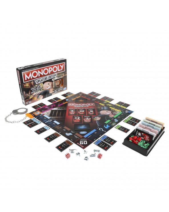 HASBRO Monopolio Cheaters...