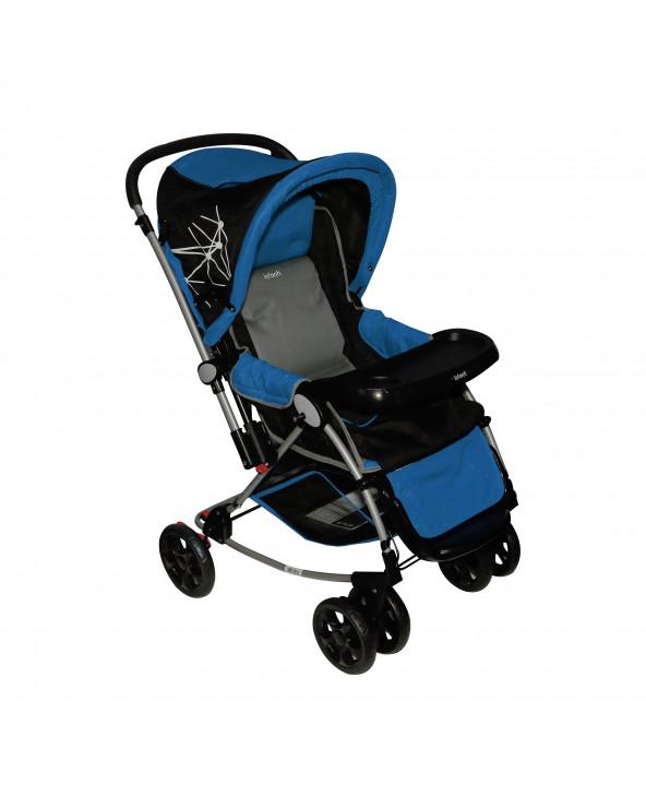 INFANTI Coche cuna mecedora A516WEB Blue Gray