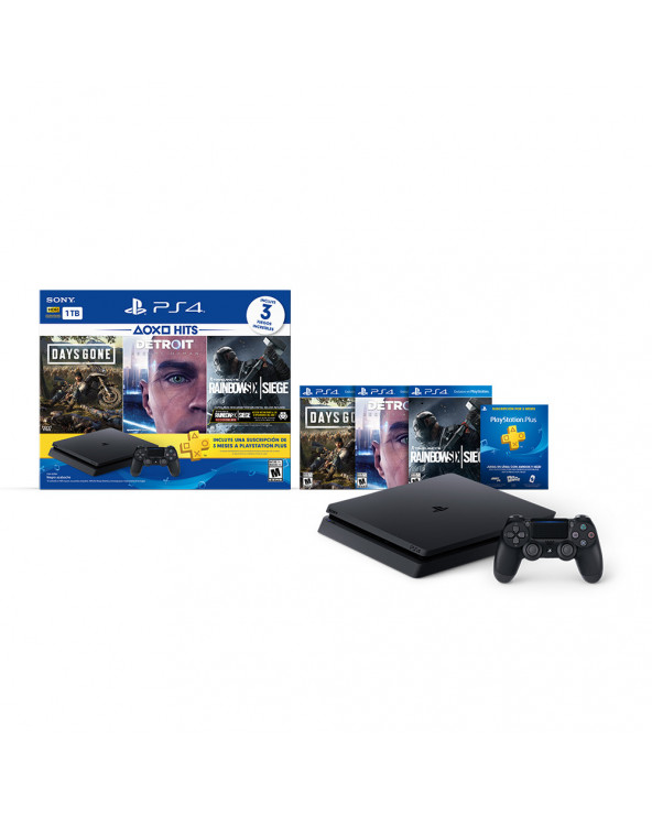 SONY Consola PS4 1TB HITS 5 Bundle