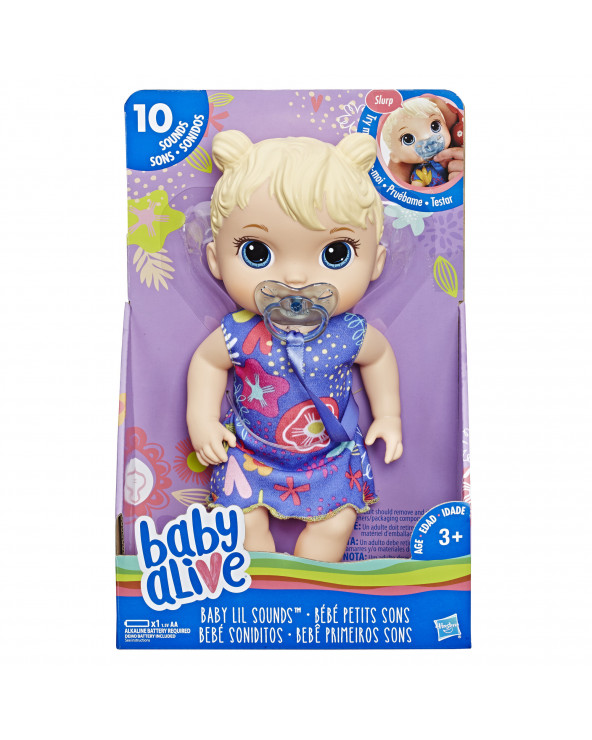 Baby Alive Cry Baby BL E3690