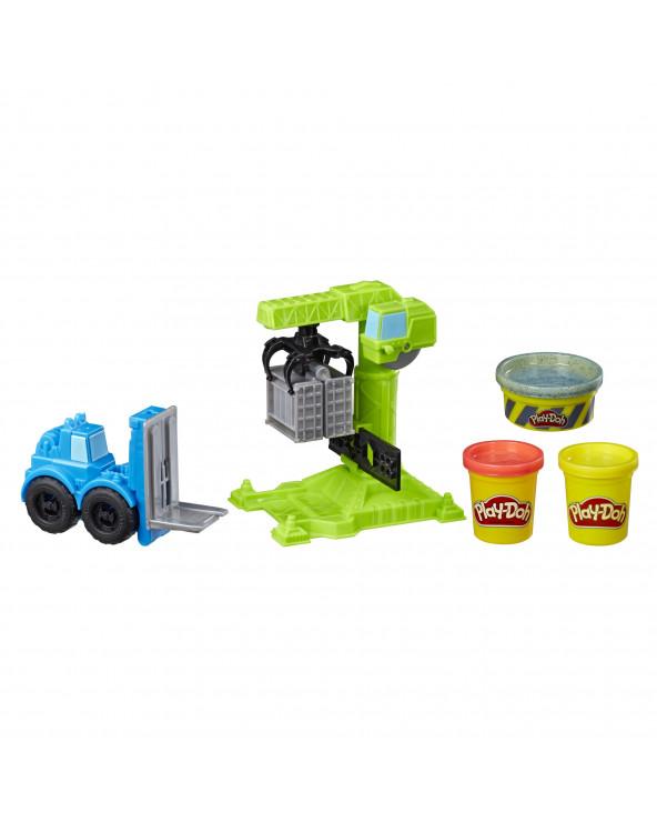Play-Doh Vehiculo Grúa E5400