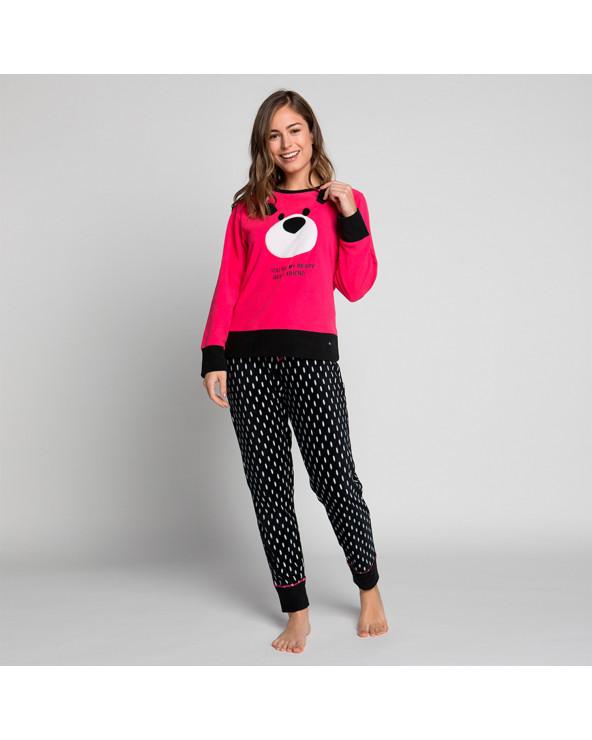 KAYSER Pijama Dama Polar 60.1188 Berry