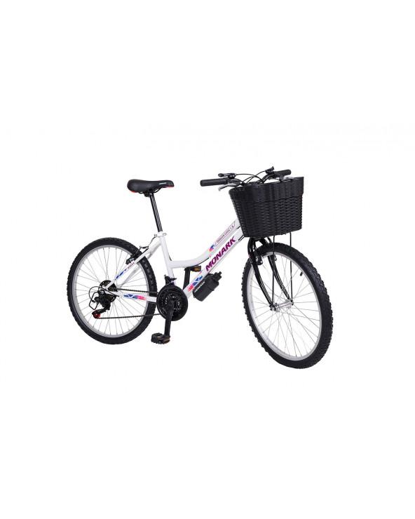 "MONARK Bicicleta Mujer Demon Chic 1.8 Aro 24"" Blanco"