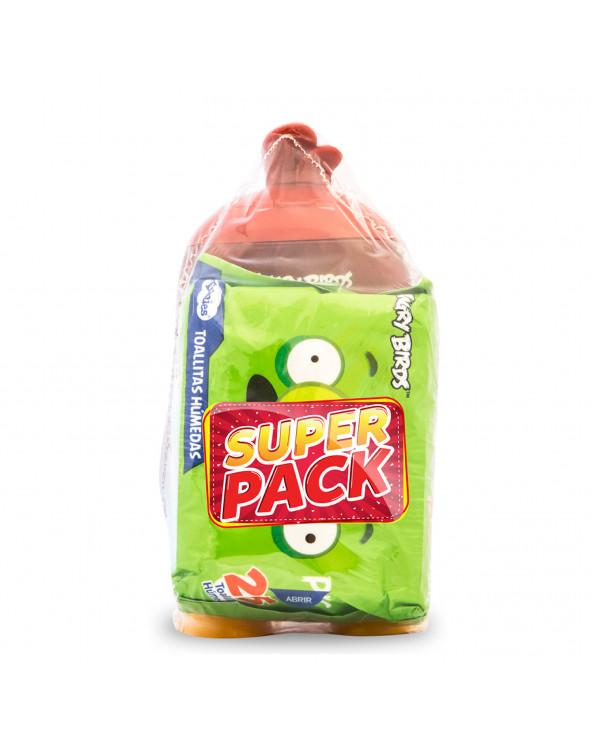 Angry Birds Shampoo 414ml + Toalla Húmeda 25