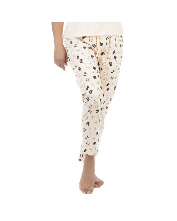 Ousadia Arma Tu Pijama Fuzy Pantalón Ba
