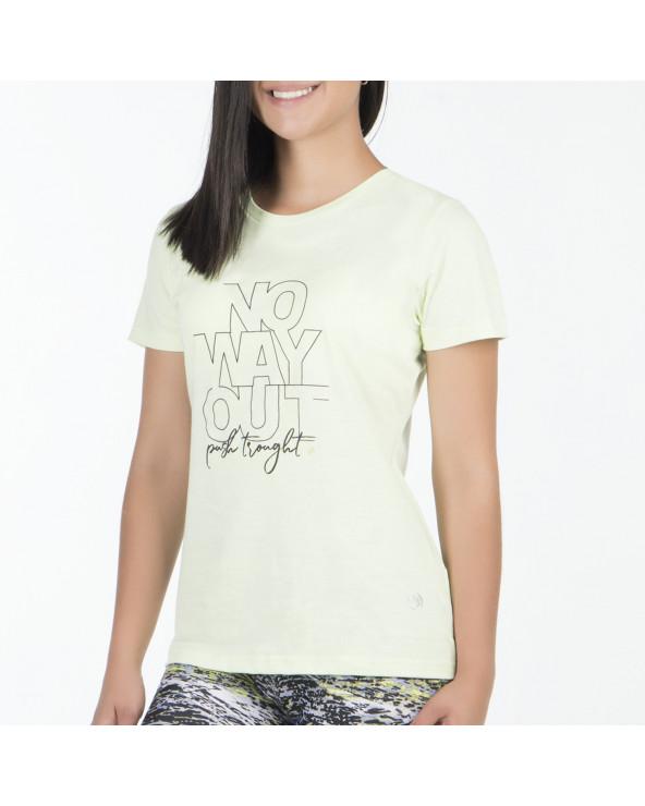 One Polo Dama Tee Shirt Emist 3 M/C Ba