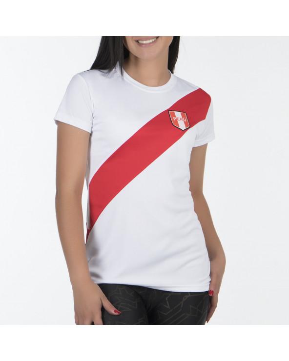 One Polo Dama T-Shirt No Official H Peru19 M/