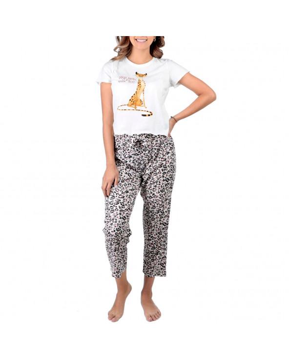 Ousadia Pijama Charlot M/C Mo