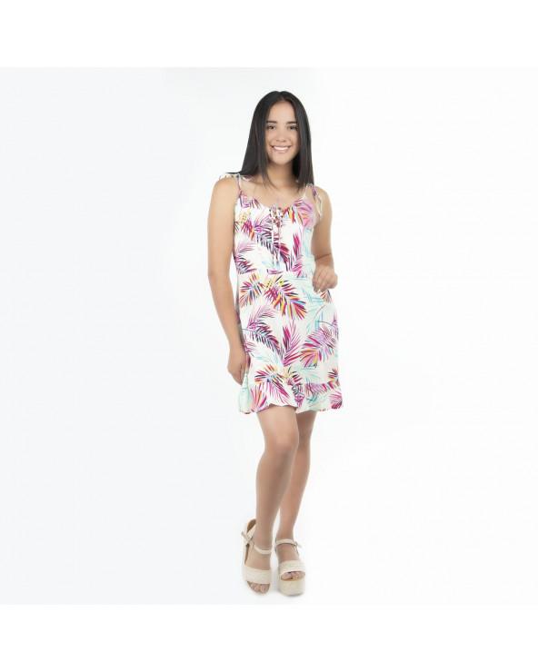 One Step Vestido Nadia Tiras PP