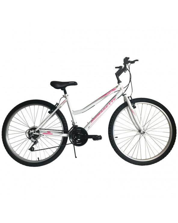 """Bicicleta Monarette Delta Lady Aro 26"""" Blanco"""