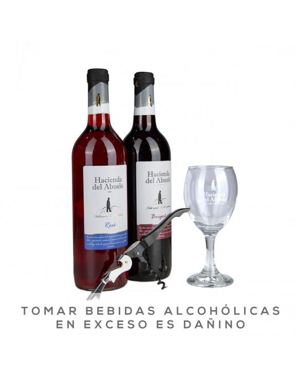 LA HACIENDA PACKVINOBORGOÑA+VINOROSE+COPA+SACAC
