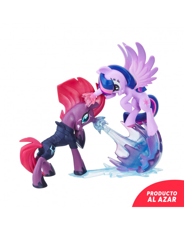 My Little Pony Figuras Deluxe Coleccionable Twilight VS Tempest